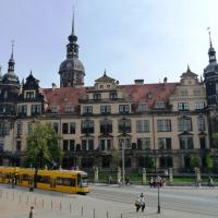 Полдня в Дрездене - часть I. Центр.
