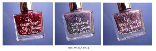 Golden rose Jolly Jewels: №105, 108 и 112